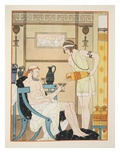 Hydration for the Cold, Illustration from 'The Works of Hippocrates', 1934 (Colour Litho) Giclee Print by Joseph Kuhn-Regnier
