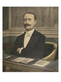 The New President of the Chambre Des Deputes: Paul Deschanel Premium Giclee Print by  French