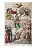 Council of the Gods, Book I, Illustration from Ovid's Metamorphoses, Florence, 1832 Giclee Print by Luigi Ademollo