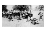 An Unsportsmanlike Indignity Inflicted on Brave Foes Giclee Print by  German photographer
