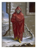 A Turk in Winter Clothing, Plate 41 Giclee Print by Jean Baptiste Vanmour