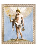Apollo, Engraved by Francesco Bartolozzi, 1799 (Coloured Engraving) Giclee Print by William Hamilton