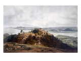 Panoramic Sketch of Prince of Wales Island by William Daniell, C.1817 (Coloured Engraving) Giclee Print by Robert Smith