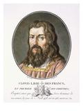 Clovis I Giclee Print by Antoine Louis Francois Sergent-marceau