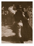 The Dance, Print by Olga Von Koncz, 1914 (Photogravure) Giclee Print by  German photographer