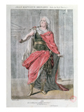 Jean Baptiste Brisard in the Role of 'Vieil Horace' in the Tragedy 'Horace' by Corneille Giclee Print by  French