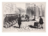 Street Orderlies, Illustration from 'London Labour and London Poor' by Henry Mayhew, Pub. 1862 Giclee Print by  English