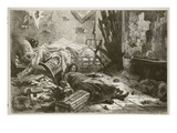 Effects of the Explosion of a Shell a House in the Suburbs, May 1871 Giclee Print by  French