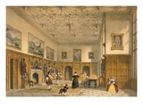 Bat Game in the Grand Hall, Parham Park, Sussex, C.1600 from 'Architecture of the Middle Ages' Giclee Print by Joseph Nash