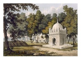 Tombs Near Etaya, from &#39;A Picturesque Tour Along the Rivers Ganges and Jumna in India&#39; Giclee Print by Charles Ramus Forrest