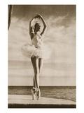 Rosella Hightower in Swan Lake, from 'Grand Ballet De Monte-Carlo', 1949 (Photogravure) Giclée-Druck von  French Photographer