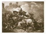 Richard the First in Palestine, Engraved by A. Smith Giclee Print by Philip James Loutherbourg