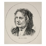 Mrs H.B. Stowe (Litho) Giclee Print by  English