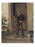The Beggar, 1881 (Oil on Canvas) Giclee Print by Jules Bastien-Lepage