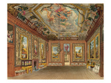 The Queen's Drawing Room, Windsor Castle, from 'Royal Residences' Giclee Print by Charles Wild
