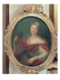 Mlle Desmares as Thalia, Muse of Comedy, c.1720 Giclee Print by Antoine Coypel