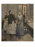 The Cross of Honour for Madamoiselle Bottard Giclee Print by Fortuné Louis Méaulle