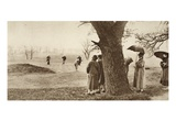 The Ninth Green at Tooting Bec Golf Course, from 'Wonderful London', Published 1926-27 Giclee Print by  English Photographer