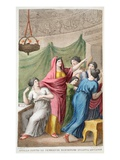 Apollo's Disguise, Book IV, Illustration from Ovid's Metamorphoses, Florence, 1832 Giclee Print by Luigi Ademollo