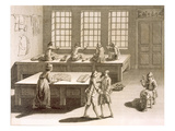 A Tailor's Workshop, from the 'Encyclopedie Des Sciences Et Metiers' by Denis Diderot (1713-84) Giclee Print by  French