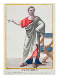 Cicero (Colour Engraving) Giclee Print by  French