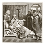 Death of Augustus (Litho) Giclee Print by  English