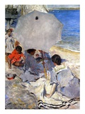 On the Beach, c.1900-05 Giclee Print by Charles Webster Hawthorne