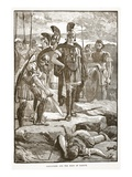Alexander and the Body of Darius (Litho) Giclee Print by  English