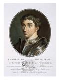 Charles Vii Giclee Print by Antoine Louis Francois Sergent-marceau