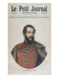 Portrait of Lajos Kossuth (1802-94) from the Front Cover of 'Le Petit Journal', 8th October, 1892 Giclee Print by Henri Meyer
