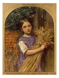 The Good Harvest of 1854', 1854 Giclee Print by Charles Alston Collins