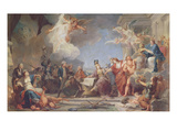 Allegory of the Declaration of the Rights of Man, 1790 (Oil on Canvas) Giclee Print by Jean-Baptiste Regnault