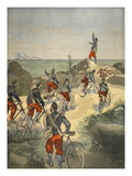 Cycling Service Along the Coast of Cuba, Illustration from 'Le Petit Journal: Supplement Illustre' Giclee Print by  French