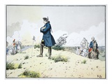 Kunersdorf, 12 August 1759 (Colour Litho) Giclee Print by Richard Knoetel