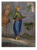 A Spahi, Plate 34 Giclée-Druck von Jean Baptiste Vanmour