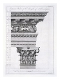 Exterior Order of the Temple of Aesculapius, Plate XLVII Giclee Print by Robert Adam