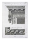 Part of the Door of the Temple Giclee Print by Robert Adam