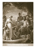 Alfred Liberating the Family of Hastings Lámina giclée por English