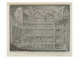 Interior of the Late Theatre Royal, Drury Lane, in London, Built by Henry Holland, 1794 Giclee Print by John Winston