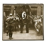 Funeral Procession for Horst Wessel in the Juedenstasse, 1st March 1930 Giclee Print by  German photographer