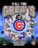 Chicago Cubs All Time Greats Composite Foto