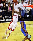 Dwyane Wade Game 3 of the 2012 NBA Finals Action Photo