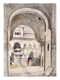 The Fountain of the Lions, from the Hall of the Abencerrajes Giclee Print by John Frederick Lewis