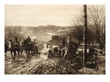 German Troops in Finland (B/W Photo) Giclee Print by  German photographer