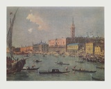 Venice - View to the Doge's Palace Collectable Print by Francesco Guardi