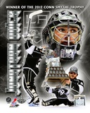 Jonathan Quick 2012 NHL Conn Smythe Trophy Winner Portrait Plus Photo