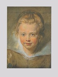 Portrait of a Child Collectable Print by Peter Paul Rubens