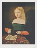 Portrait of a Woman Collectable Print