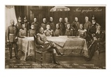 Men Who Have Mobilised the German Nation: the Kaiser and His Chief Military Premium Giclee Print by  German photographer