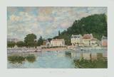 Alfred Sisley - Port Marly - Koleksiyonluk Baskılar